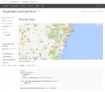 [javascript] Google Maps javascript API v3の使い方(基本編)